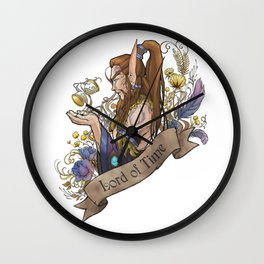 Lord of Time Wall Clock