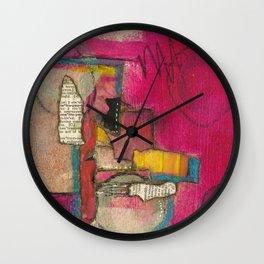 Pinka #2 Wall Clock