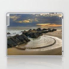 Windy Tarifa beach. Wild swiming pools. Laptop & iPad Skin