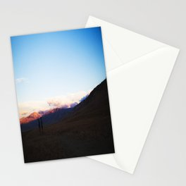 Red Mountains Stationery Cards