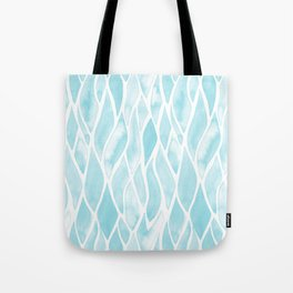 Sand Flow Pattern - Light Blue Tote Bag