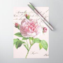 Paris Rose Wrapping Paper