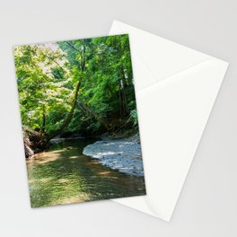 USA Montrose New Jersey Nature Parks Rivers Trees park river Stationery Cards