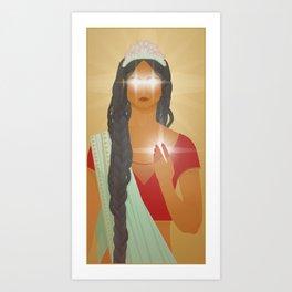 Djinni Lady Art Print