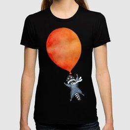 Raccoon and Balloon T-shirt