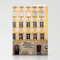 mozart Stationery Cards featuring Mozart Residence  by Laura Ruth