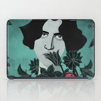 oscar wilde iPad Cases featuring Oscar Wilde by Phantasmagoria