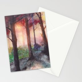 Into The Forest VII Stationery Cards