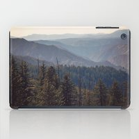 yosemite iPad Cases featuring Yosemite Mountains  by Laura Ruth