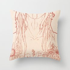 Blume Throw Pillow