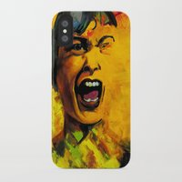 scream iPhone & iPod Cases featuring Scream by Kristie Holiday