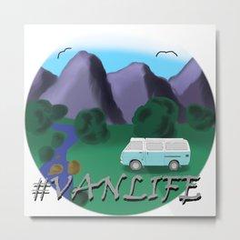 #VANLIFE Metal Print