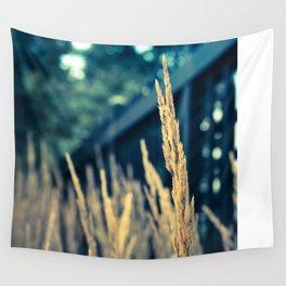 Tall Breezy Grass Wall Tapestry