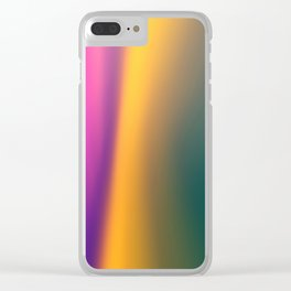 Blurred color Clear iPhone Case