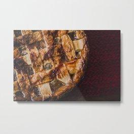 Homemade Apple Pie Metal Print