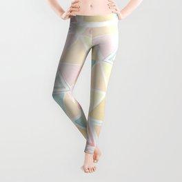 Triangle watercolor fantasy Leggings