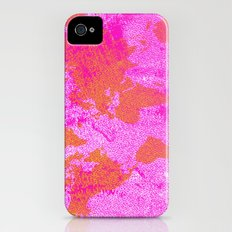 COME WITH ME AROUND THE WORLD (HOT PINK) iPhone (4, 4s) Slim Case