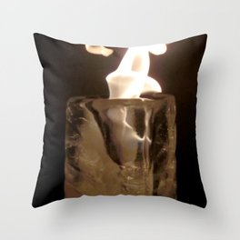 Fire from Ice - FredPereiraStudios.com_Page_11 Throw Pillow