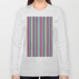 Colour line stripes 555 Long Sleeve T-shirt