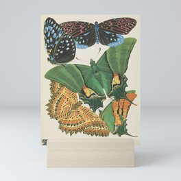 Butterfly and Moth Print by E.A. Seguy, 1920s #15 Mini Art Print