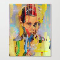 tchmo Canvas Prints featuring Untitled 20150303w by tchmo
