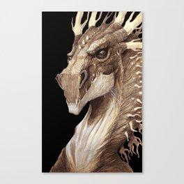 Dragon Portrait Canvas Print