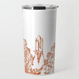 Launch Off // Orange Travel Mug
