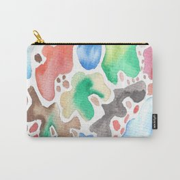 170623 Colour Shapes Watercolor 2 Carry-All Pouch