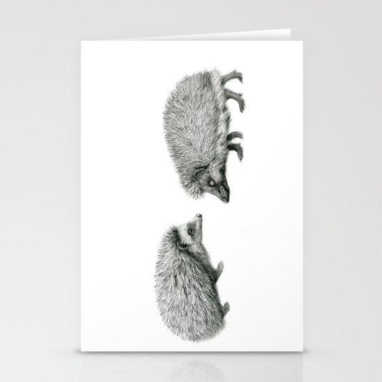 Funny Hedgehog SK050 Stationery Cards