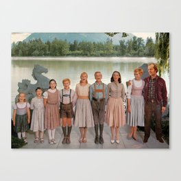 Jack Torrance in The Sound of Music Canvas Print