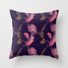 Animals & Pills by Yutaka Sho Throw Pillow