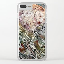 Great Bear Rainforest Clear iPhone Case