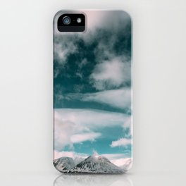 Iceland Mountains iPhone Case