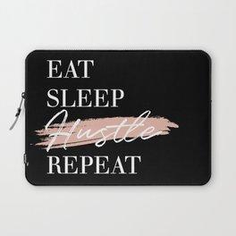 Eat Sleep Hustle Repeat Laptop Sleeve
