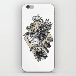 Autumn Robin iPhone Skin