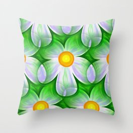 Seamless Repeating Tiling Throw Pillow