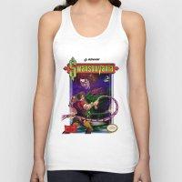 castlevania Tank Tops featuring SwansonVania by Andrew Leta