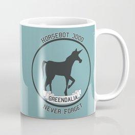 Horsebot 3000 Never Forget Coffee Mug