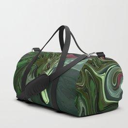 Watermelon Tourmaline Dragon Duffle Bag