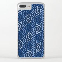 Op Art 142 Clear iPhone Case