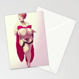 BBW Pin Up - Douleur Stationery Cards