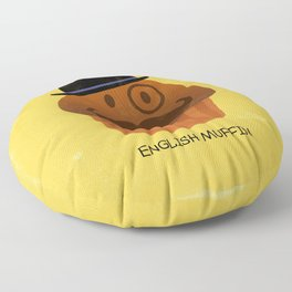 English Muffin Floor Pillow