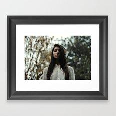 Shame on me Framed Art Print