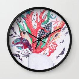 Ocean Arrangements Wall Clock