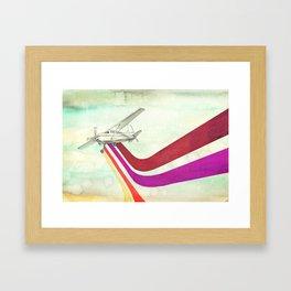 80's Airplane - CESSNA 2 Framed Art Print
