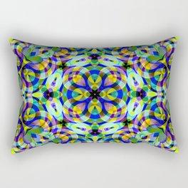 Floral Fractal Art G540 Rectangular Pillow