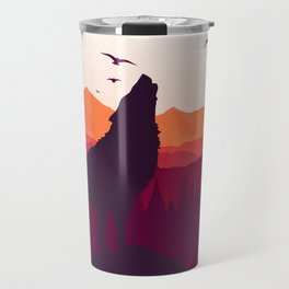 Bark At The Moon Travel Mug