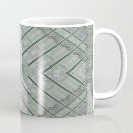 Refreshing Mint Green Tea Maze Coffee Mug