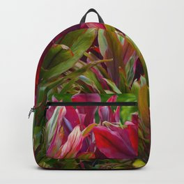 Hawaiian Flowers Backpack