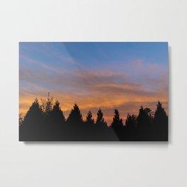 Bellingham, WA November Sunrise 1 Metal Print